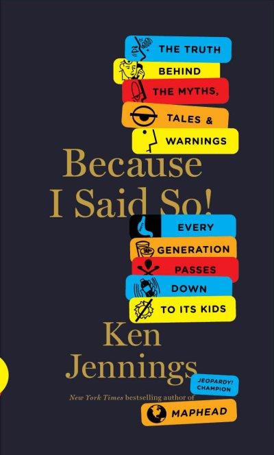 [Image of Because I Said So! cover]